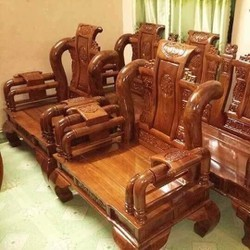 Bộ bàn ghế Tần Thủy Hoàng tay 12