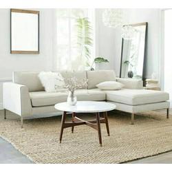 Bộ sofa góc trắng giá rẻ