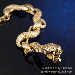 Shop Thành Nhi - vòng tay nam rắn vàng kim - VTSNT030