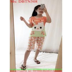Đồ bộ nữ mặc nhà lửng hình hello kitty xì teen DBTN508