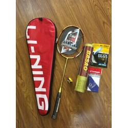 BỘ combo vợt cầu lông lining