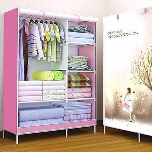Tủ quần áo 3D 2 buồng - 10477255 , 7503970 , 15_7503970 , 200000 , Tu-quan-ao-3D-2-buong-15_7503970 , sendo.vn , Tủ quần áo 3D 2 buồng