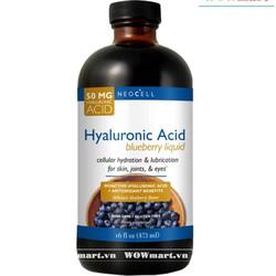 Tinh chất việt quất Neocell Hyaluronic Acid Blueberry Liquid 473ml