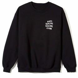 Áo Thun Sweater Antisocial Fox_Unisex