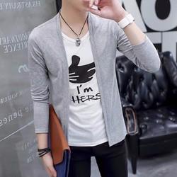 áo khoác cadigan Hàn Quốc - áo khoác nam