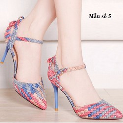 Giày cao gót nữ size 34 đến 40 - giá 960k -G8567