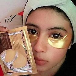 miếng đắp thâm quần mắt có 2 màu vàng và đen giá rẻ