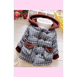 áo khoác lót lông dày cho bé 2-5 tuổi