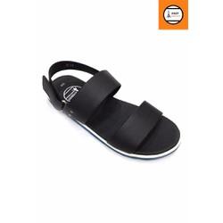 Giày sandal 2 quai đen năng động