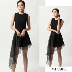 Đầm xòe phối voan Mirabel dress - Hàng thiết kế