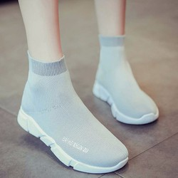 giày boot nữ Mã: GC0239 - XÁM