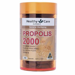 Keo Ong Healthy Care Propolis 2000mg 200 viên