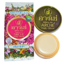 Kem dưỡng trắng da  mặt Arche Pearl Cream 3g từ Thái Lan