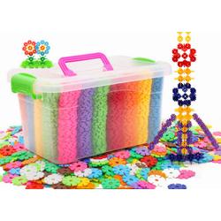 Bộ đồ chơi ghép hình bông tuyết an toàn 700 mảnh dành cho bé -AL