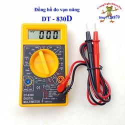 Đồng hồ đo vạn năng VOM DT 830D-vàng