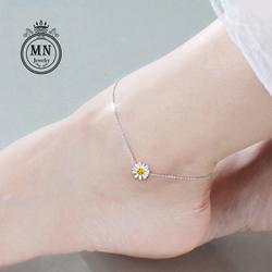 Lắc chân hoa cúc xinh xắn D51C