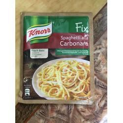 Gia vị làm Spaghetti Carbonara sốt kem nấm , Knorr Đức
