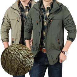 Hàng nhập khẩu, Áo khoác dù lót lông cao cấp EARTHCAMEL- Mã số: AK1712
