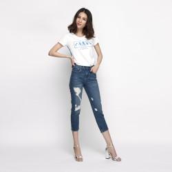 Quần Jeans Boyfriend Lưng Vừa AAA Jeans