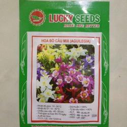 Hạt giống hoa cỏ bồ câu nhiều màu LUCKY SEEDS