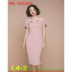 Đầm ôm cô DOC609