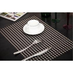 [Sỉ, lẻ giá tốt] Tấm lót bàn ăn sợi đan phối màu hiện đại