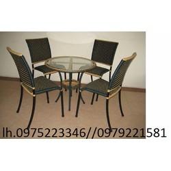 bàn ghế cafe đẹp bền chắc chắn  giá rẻ