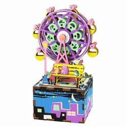 Mô Hình Gỗ 3D - Hộp Âm Nhạc Vòng Xoay Ferris