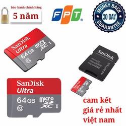 Thẻ nhớ 64GB SanDisk chính hãng giá rẻ nhất việt nam