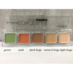 KEM CHE KHUYẾT ĐIỂM CATRICE ALL ROUND CONCEALER PALETTE.