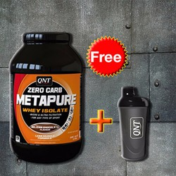 Isolate Whey QNT Zero Carb Metapure Protein 2kg  tặng Shaker Đen