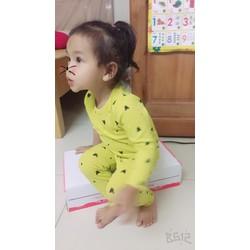 Đồ bộ dài tim nhỏ cho bé gái
