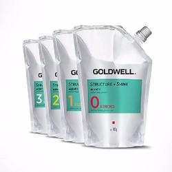 CẶP THUỐC UỐN GOLDWELL 400G - 1000ML -  CẶP UỐN NÓNG KỸ THUẬT SỐ