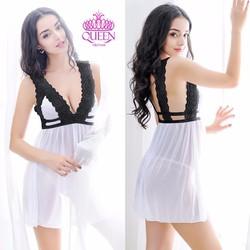 váy ngủ đẹp quyến rũ QS319A