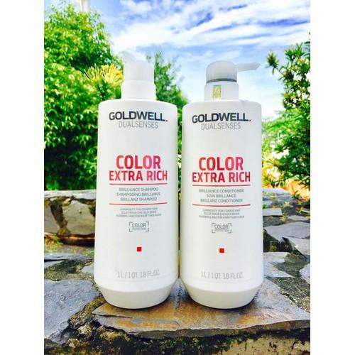 Dưỡng tóc nhuộm Goldwell Color Extra 1000ml