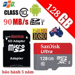 Thẻ nhớ 128GB SanDisk chính hãng giá rẻ nhất việt nam