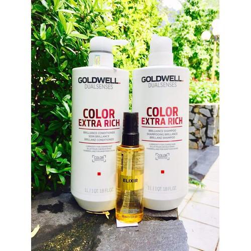 Chăm sóc tóc nhuộm Goldwell Color 1000ml