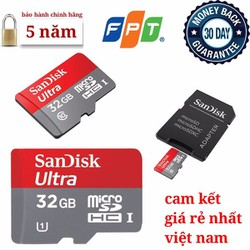 Thẻ nhớ 32GB SanDisk chính hãng giá rẻ nhất việt nam