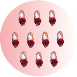 Combo 10 đôi giày vải đi trong nhà cho bé từ 3 - 4 tuổi