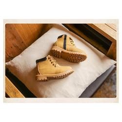 Giày boot cột dây bé trai BBT03