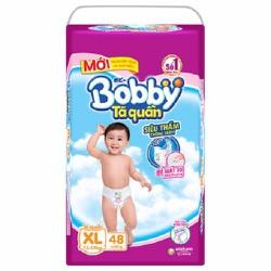 TÃ QUẦN BOBBY XL48 MIẾNG CHO BÉ TỪ 12-17KG