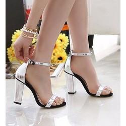 Giày cao gót nữ thời trang, thiết kế mới nữ tính, sang trọng