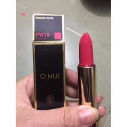 Son môi Ohui Rouge Real Lipstick PW18
