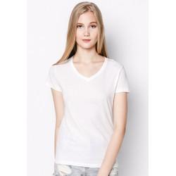Áo thun trơn nữ cổ tim cotton cao cấp siêu nhẹ siêu mát MPNU21