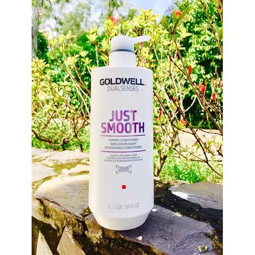 Dầu xả tóc Goldwell Just Smooth 1000ml