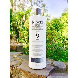 Dầu xả Nioxin chống rụng tóc hệ thống 2 1000ml