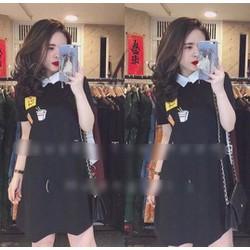 Đầm thun cô peter