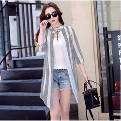 Áo choàng nữ nhẹ nhàng style Hàn Quốc