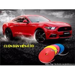 Dán trang trí bánh xe ô tô