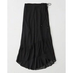 chân váy đen xoè
